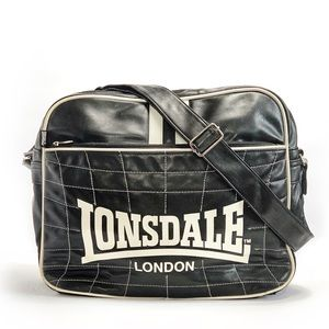 LONSDALE | Flight Bag Faux Leather Messenger